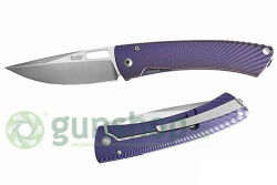 Нож Lionsteel TI.SPINE Purple MATT Titanium Elmax