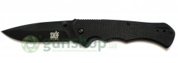 Нож SKIF 566BL liner lock folder 440С,G-10 (черный)