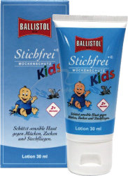 Гель Klever Stichfrei Kids (от комаров и клещей) 125ml