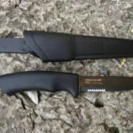 Нож MORA BushCraft Black SRT