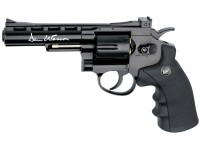 Пневматический револьвер ASG Dan Wesson 4'' Black
