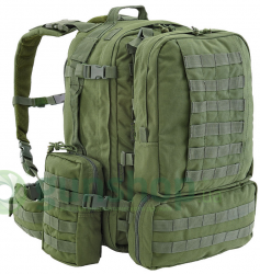 Рюкзак Defcon 5 EXTREME FAST RELEASE MODULAR FULL MOLLE BACK PACK OD Green