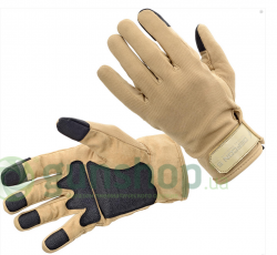 Перчатки Defcon 5 SHOOTING AMARA GLOVES WITH REINFORSED PALM COYOTE TAN S ц:песочный