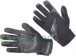 Перчатки Defcon 5 SHOOTING GLOVES WITH LEATHER PALM BLACK S ц:черный