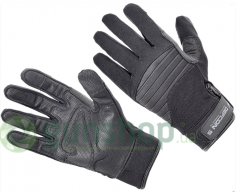 Перчатки Defcon 5 ARMOR TEX GLOVES WITH LEATHER PALM BLACK S ц:черный