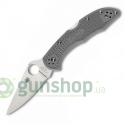 Нож Spyderco Delica 4 Ground Grey