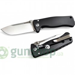 Нож Lionsteel SR MINI Black Alluminium body Inox Sleipner